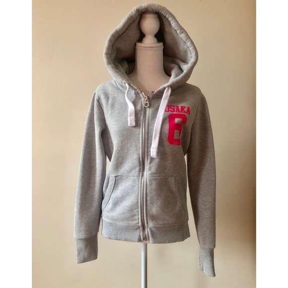 Activewear Superdry Sports Top Size Medium Nwt Hoodies & Sweatshirts
